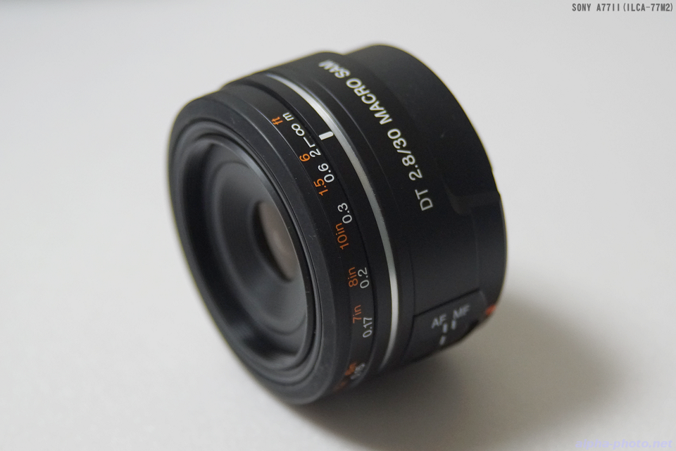 SONY DT 30mm F2.8 Macro SAM(SAL30M28)