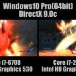 ゲームベンチ対決!Core i7-6700(Intel HD Graphics 530) vs Core i7-2600K(Intel HD Graphics 3000) 比較 レビュー